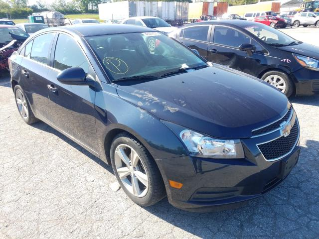 Salvage cars for sale from Copart Bridgeton, MO: 2014 Chevrolet Cruze LT