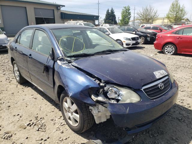 Salvage cars for sale from Copart Eugene, OR: 2007 Toyota Corolla CE