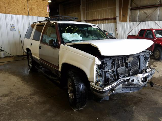 Salvage cars for sale from Copart Anchorage, AK: 1999 Chevrolet Tahoe K150