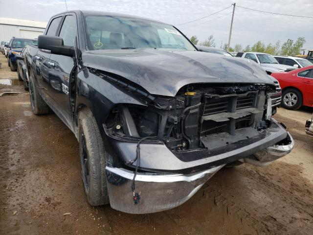 Salvage cars for sale from Copart Pekin, IL: 2015 Dodge RAM 1500 SLT