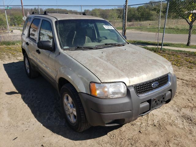 Salvage cars for sale from Copart Madison, WI: 2003 Ford Escape XLT