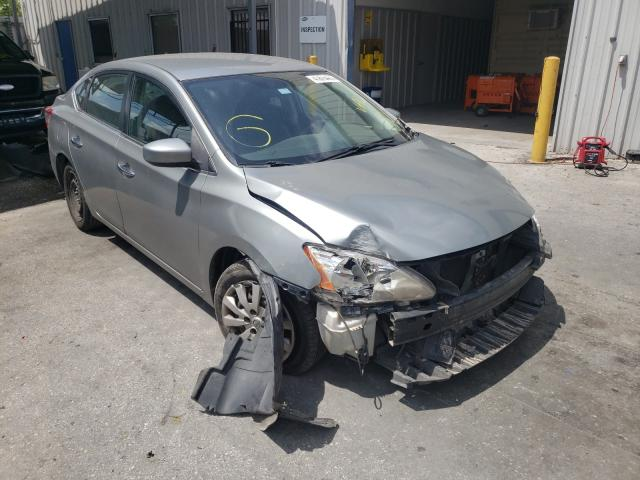 Salvage cars for sale from Copart Orlando, FL: 2013 Nissan Sentra S
