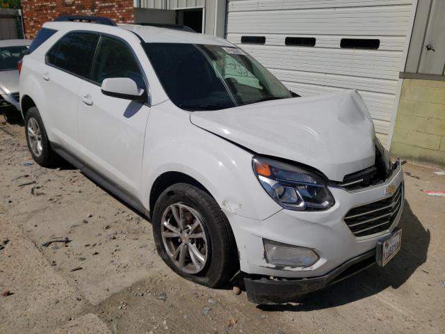 Salvage cars for sale from Copart Hampton, VA: 2017 Chevrolet Equinox LT