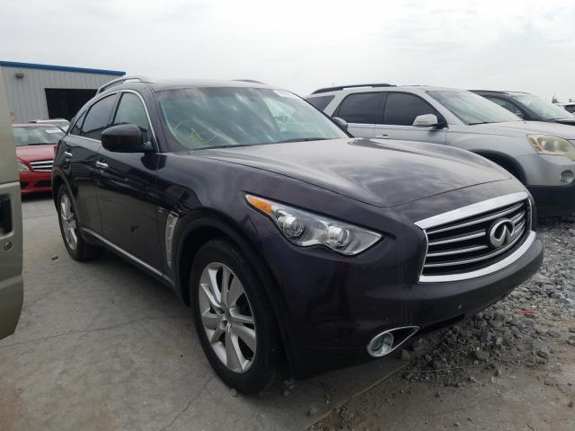 Infiniti QX70 salvage cars for sale: 2015 Infiniti QX70