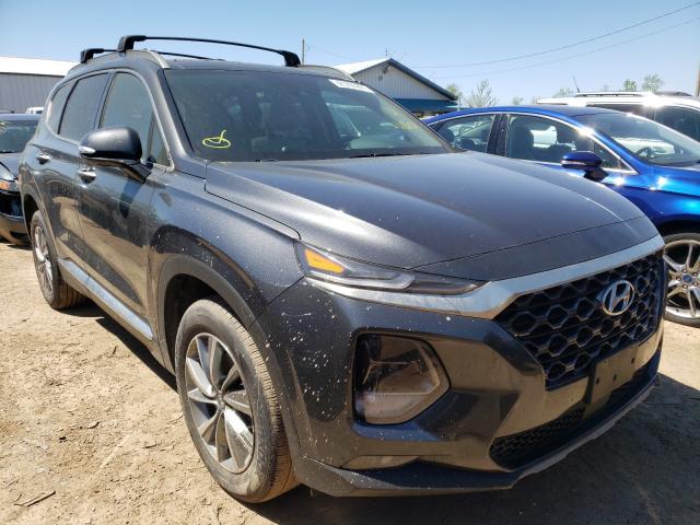 Salvage cars for sale from Copart Pekin, IL: 2020 Hyundai Santa FE S