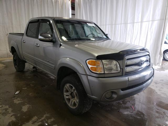 Salvage cars for sale from Copart Central Square, NY: 2004 Toyota Tundra DOU