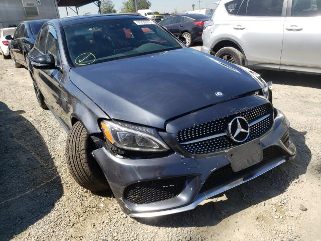 Vehiculos salvage en venta de Copart Los Angeles, CA: 2016 Mercedes-Benz C 450 4matic