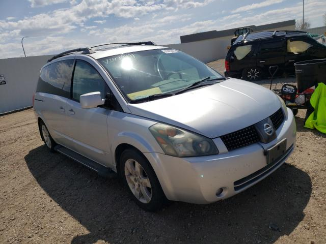 Salvage cars for sale from Copart Bismarck, ND: 2004 Nissan Quest S