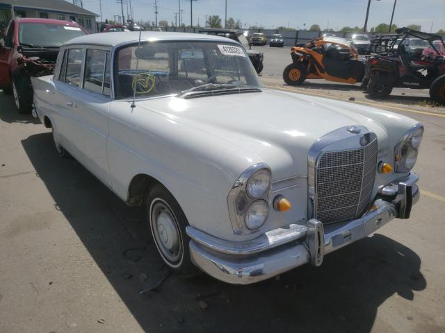 Mercedes-Benz 230S salvage cars for sale: 1967 Mercedes-Benz 230S