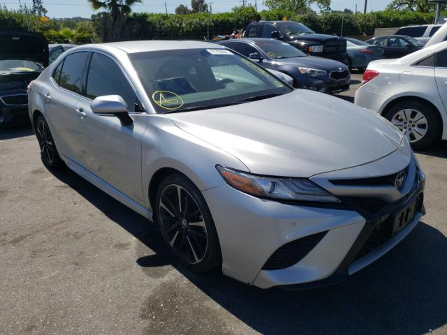Salvage cars for sale from Copart San Martin, CA: 2018 Toyota Camry XSE