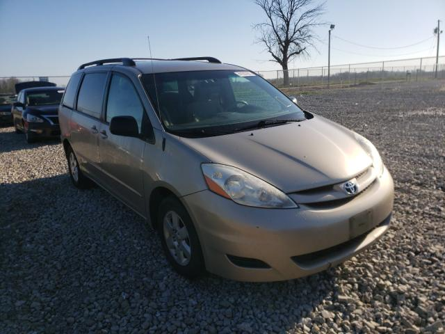 Salvage cars for sale from Copart Cicero, IN: 2008 Toyota Sienna CE