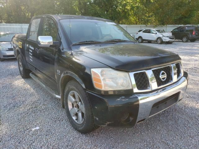 Salvage cars for sale from Copart Knightdale, NC: 2004 Nissan Titan Crew