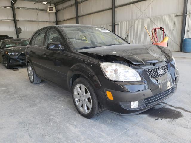 KIA salvage cars for sale: 2009 KIA Rio 5 SX