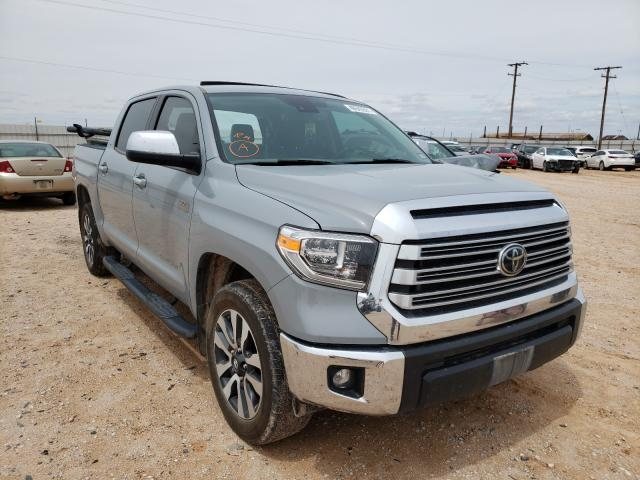 Salvage cars for sale from Copart Andrews, TX: 2020 Toyota Tundra CRE