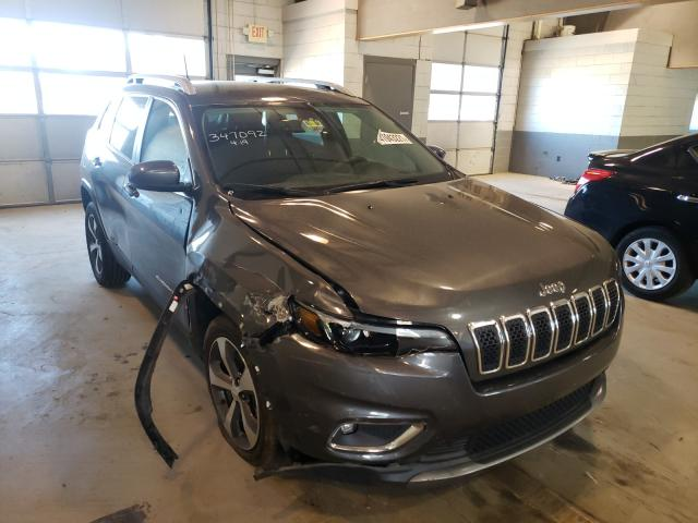 Salvage cars for sale from Copart Sandston, VA: 2019 Jeep Cherokee L