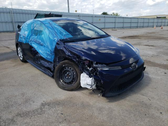 Salvage cars for sale from Copart Lexington, KY: 2021 Toyota Corolla LE