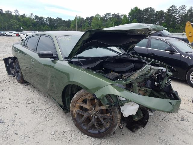 Salvage cars for sale from Copart Ellenwood, GA: 2020 Dodge Charger SX