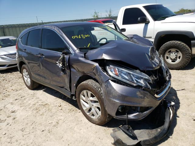 Salvage cars for sale from Copart Kansas City, KS: 2016 Honda CR-V EX