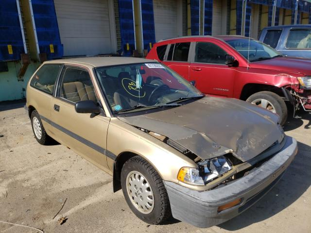 Salvage cars for sale from Copart Columbus, OH: 1989 Honda Civic DX