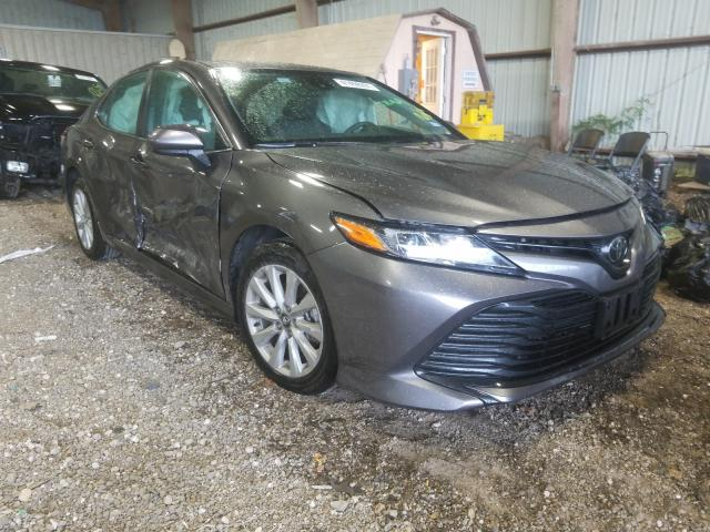 Salvage cars for sale from Copart Houston, TX: 2020 Toyota Camry LE