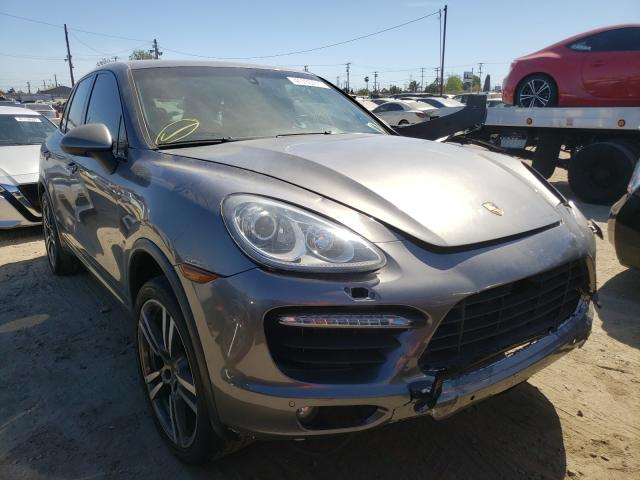 Porsche salvage cars for sale: 2013 Porsche Cayenne TU