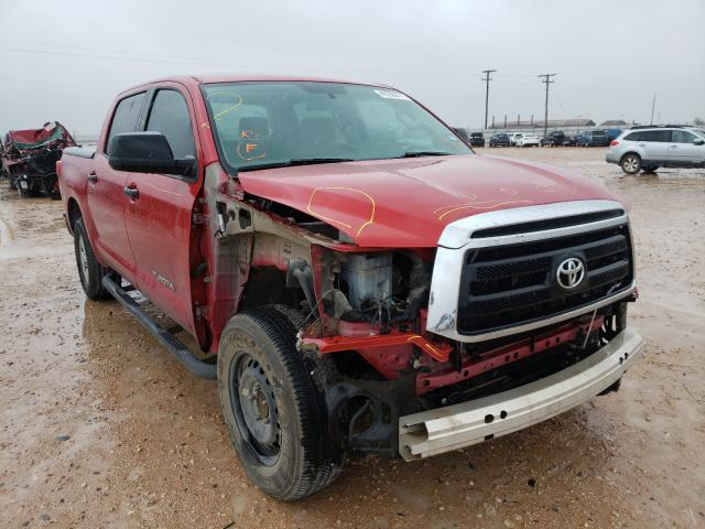 Salvage cars for sale from Copart Andrews, TX: 2011 Toyota Tundra CRE