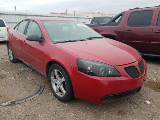 Salvage cars for sale from Copart Mercedes, TX: 2007 Pontiac G6 Base
