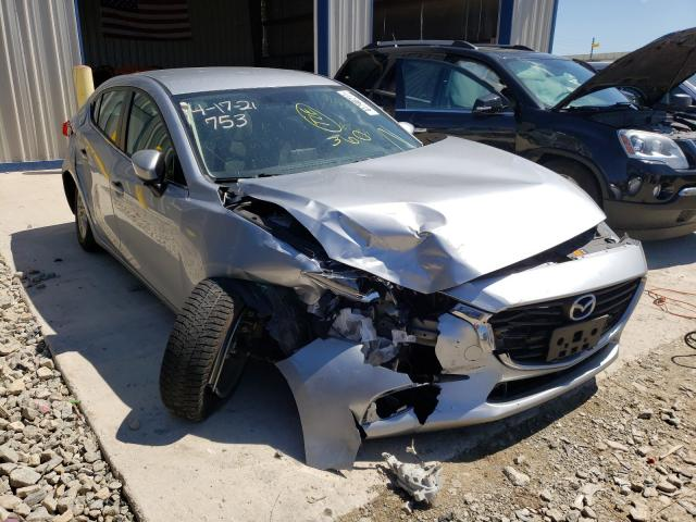 Salvage cars for sale from Copart Appleton, WI: 2017 Mazda 3 Sport
