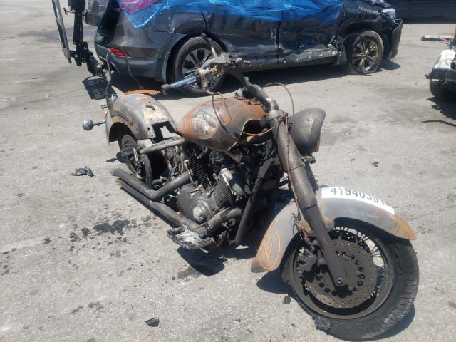 Salvage motorcycles for sale at Dunn, NC auction: 2000 Yamaha XVS1100