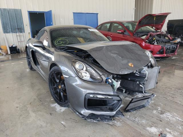 Salvage cars for sale from Copart Homestead, FL: 2015 Porsche Cayman