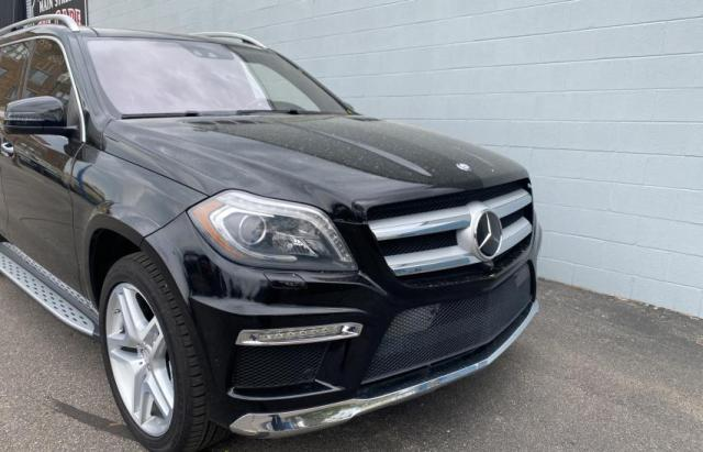 Salvage cars for sale from Copart Woodhaven, MI: 2013 Mercedes-Benz GL 550 4matic