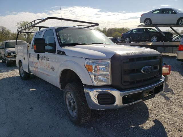 Salvage cars for sale from Copart Des Moines, IA: 2015 Ford F250 Super