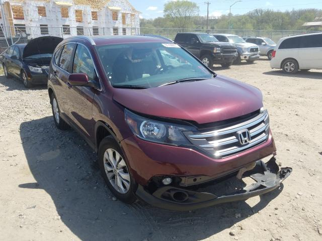 Salvage cars for sale from Copart Madison, WI: 2014 Honda CR-V EXL