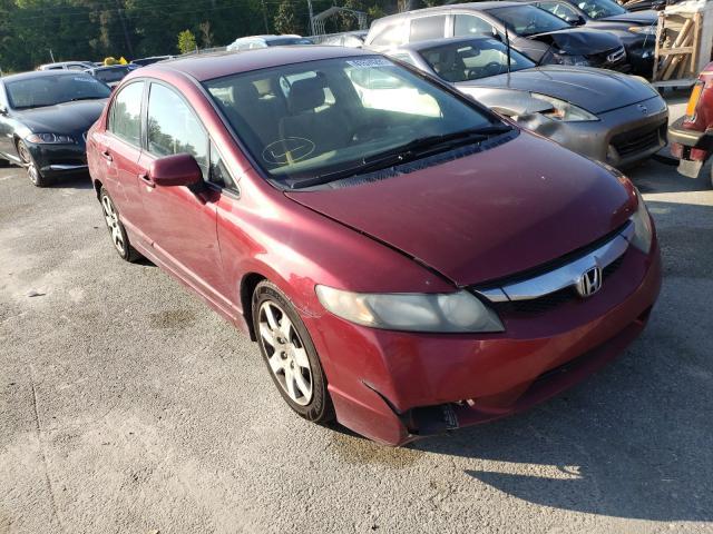 Salvage cars for sale from Copart Savannah, GA: 2011 Honda Civic LX