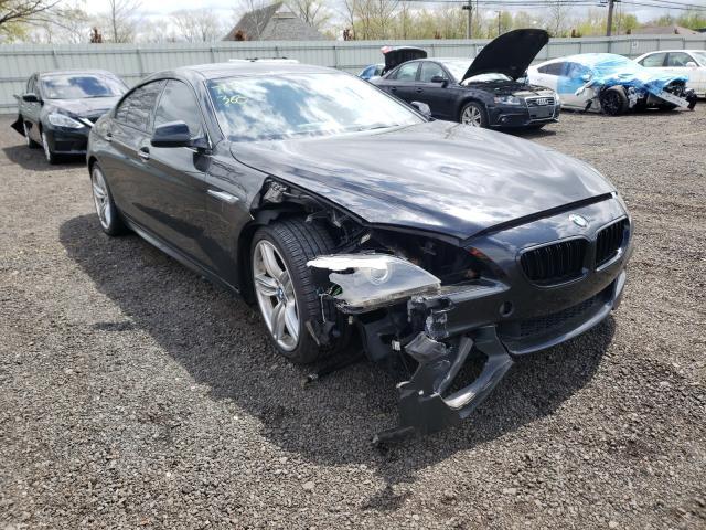 BMW 650 XI GRA salvage cars for sale: 2014 BMW 650 XI GRA