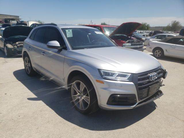 Salvage cars for sale from Copart Tulsa, OK: 2020 Audi Q5 Prestige