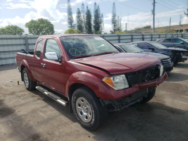 Salvage cars for sale from Copart Miami, FL: 2008 Nissan Frontier K