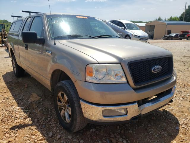 Salvage cars for sale from Copart China Grove, NC: 2005 Ford F150