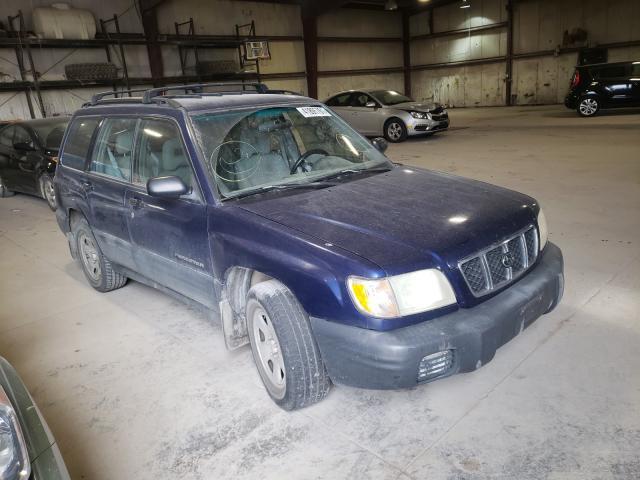 Vehiculos salvage en venta de Copart Eldridge, IA: 2001 Subaru Forester L