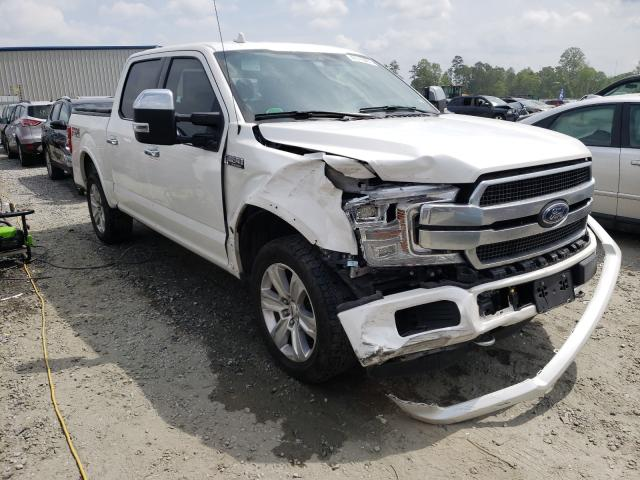 Salvage cars for sale from Copart Spartanburg, SC: 2018 Ford F150 Super