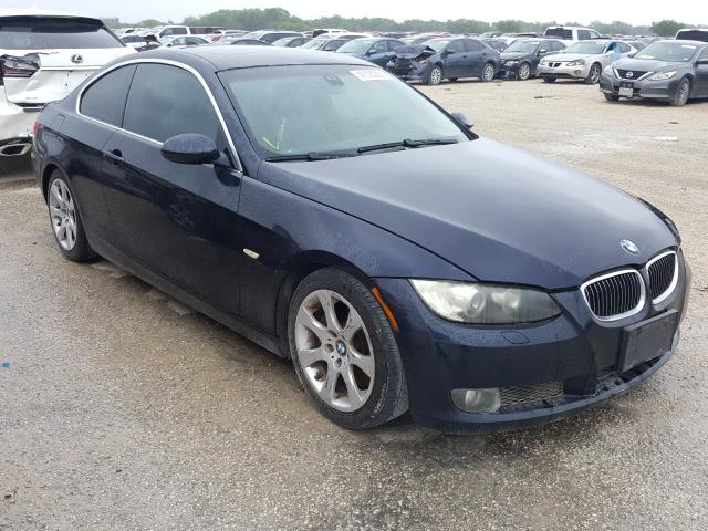 Salvage cars for sale from Copart San Antonio, TX: 2008 BMW 335 I