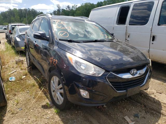 Salvage cars for sale from Copart Sandston, VA: 2013 Hyundai Tucson GLS