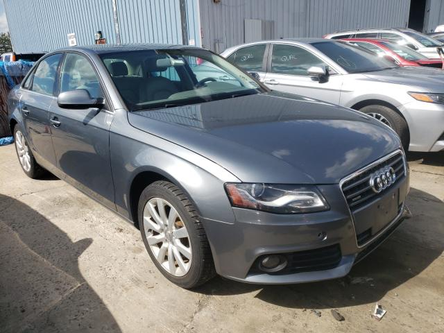 Salvage cars for sale from Copart Chambersburg, PA: 2012 Audi A4 Premium