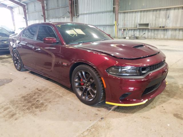 Salvage cars for sale from Copart Greenwell Springs, LA: 2020 Dodge Charger SC