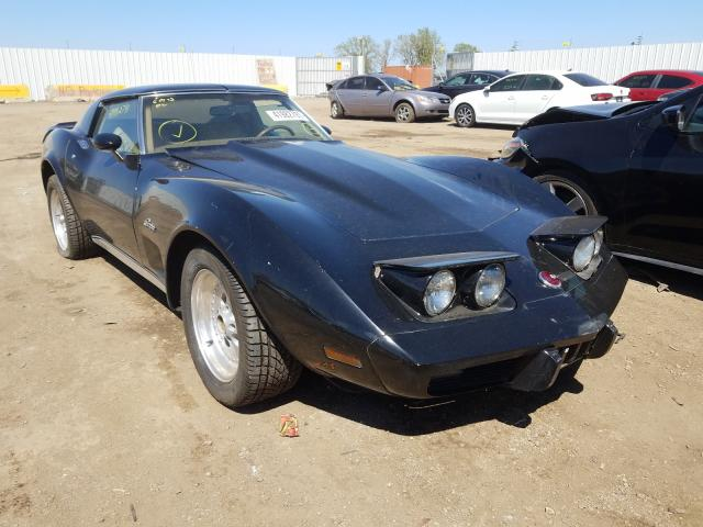 Salvage cars for sale from Copart Chicago Heights, IL: 1976 Chevrolet Corvette