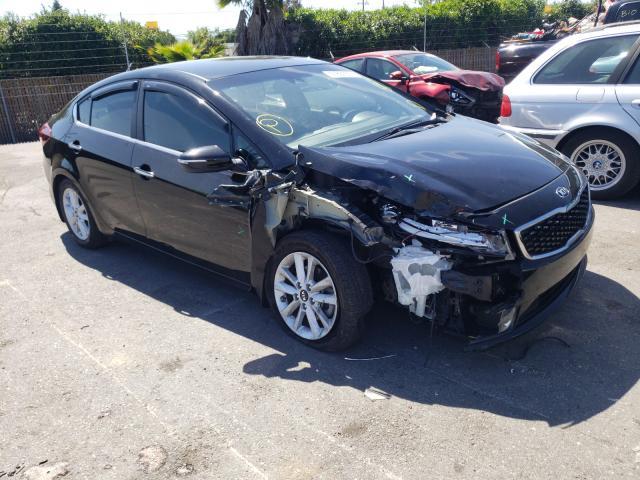 KIA salvage cars for sale: 2017 KIA Forte LX