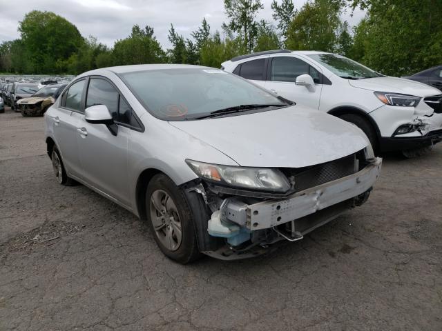Vehiculos salvage en venta de Copart Portland, OR: 2013 Honda Civic LX