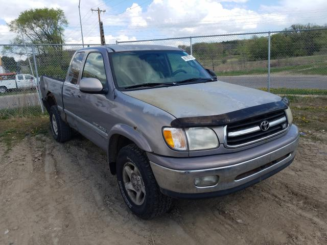 Salvage cars for sale from Copart Madison, WI: 2000 Toyota Tundra ACC