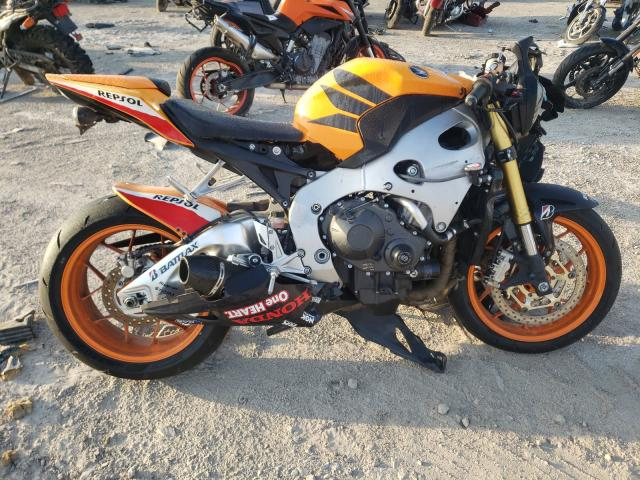 Salvage motorcycles for sale at Riverview, FL auction: 2013 Honda CBR1000 RR