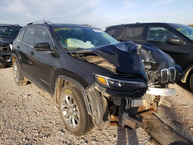 Salvage cars for sale from Copart Oklahoma City, OK: 2019 Jeep Cherokee L